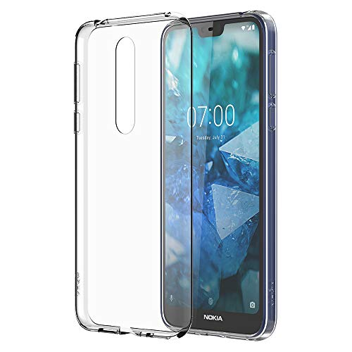 Nokia 7.1 Case - Official Nokia Accessory - Clear (Mobile Phone Cases Nokia)
