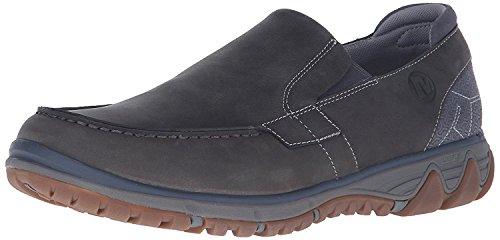 Merrell Mens All Out Blazer Moc Slip-On Shoe, Pewter, 41.5 D(M) EU/7.5 D(M) UK