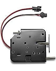 Elektrisch slot DC 12 V elektromagnetische vergrendelingsdeur kast lade elektromagnetische vergrendeling met noodontgrendeling voor deurtoegangscontrolesysteem
