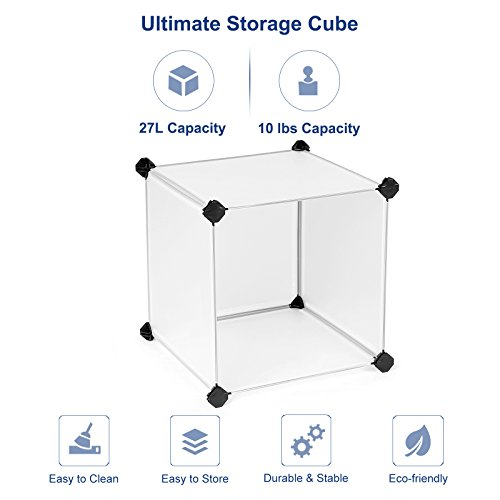 SONGMICS Storage Cube Organizer DIY Closet Cabinet Chests Space-saving ULPC06W Photo #5