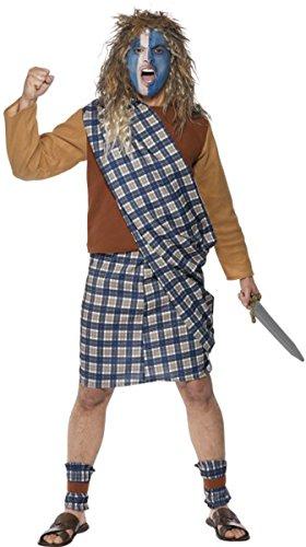 Adult Scotsman Costumes (Brave Scotsman Costume Medium)