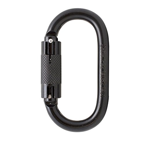 Fusion Climb Ovatti Steel Auto Lock Oval-shaped Carabiner by Fusion