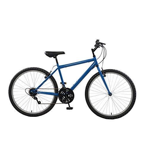 Cycle Force Rigid Mountain Bike, 26 inch Wheels, 18 inch Frame, Men's Bike, Blue