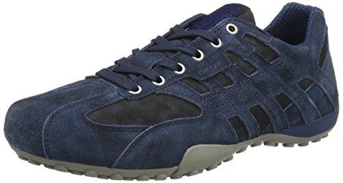 H Hombre navyc4002 Zapatillas Snake Azul Para Uomo Geox EqUZn