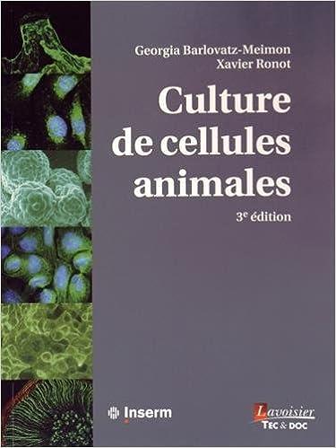 Téléchargement Culture de cellules animales pdf