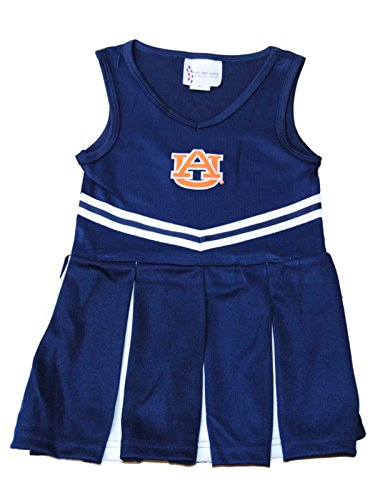 Two Feet Ahead Auburn Tigers TFA Youth Baby Toddler Navy Dress Up Cheerleading Outfit -