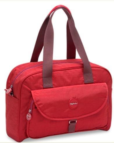 Pirulos 48231205  - Bolso, 41 x 30 x 15 cm, color rojo Rojo