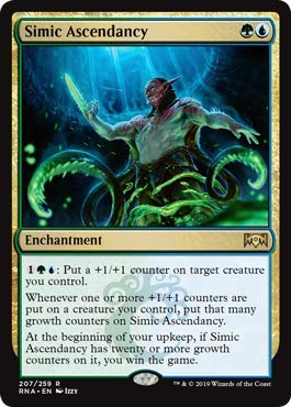 Magic: The Gathering - Simic Ascendancy - Ravnica Allegiance