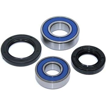 Caltric Rear Wheel Ball Bearings /& Seals Kit for Kawasaki Kef300 Kef-300 Lakota 300 1995-2000