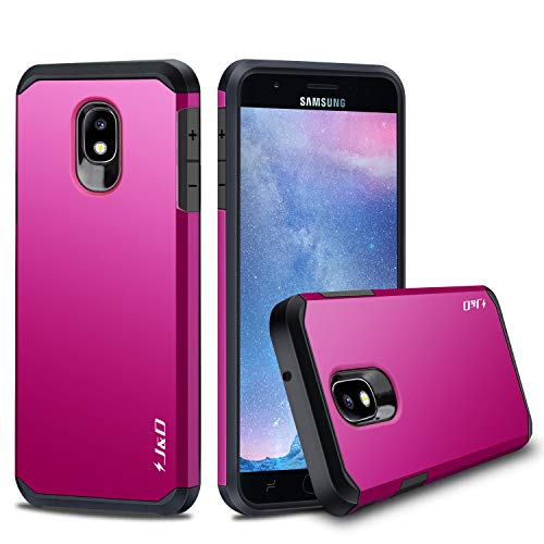 J&D Galaxy J7 2018 Case, J7 V 2nd Gen / J7 Refine / J7 Star Case, [ArmorBox] [Dual Layer] Hybrid Shock Proof Protective Rugged Case for Samsung Galaxy J7 2018