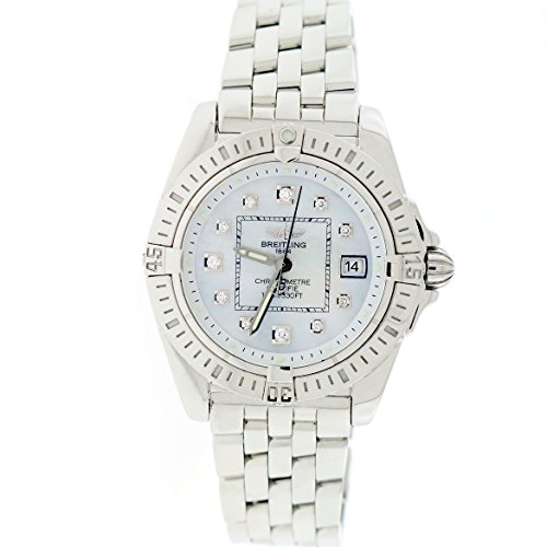 Breitling Cockpit - Breitling Cockpit analog-quartz womens Watch A71356 (Certified Pre-owned)