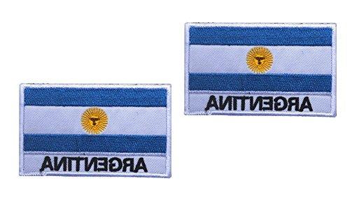 Amazon.com: Shanshan Argentina FLAG PATCH adorns your hat uniform knapsack 2PCS (Color 4)