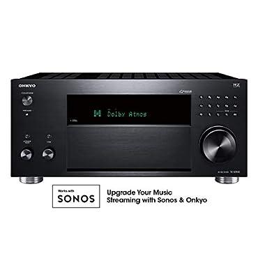Onkyo TX-RZ830 9.2 Channel 4K Network A/V Receiver Black