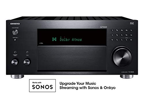 Onkyo TX-RZ830 9.2 Channel 4K Network A/V Receiver Black