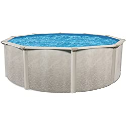"""Cornelius Pools Phoenix 24' x 52"""" Round Steel Frame Above Ground Swimming Pool"""