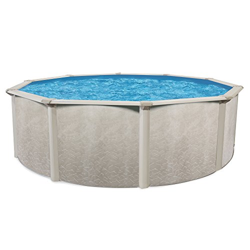 Cornelius Pools Phoenix 24' x 52'' Round Steel Frame Above Ground Swimming Pool by Cornelius