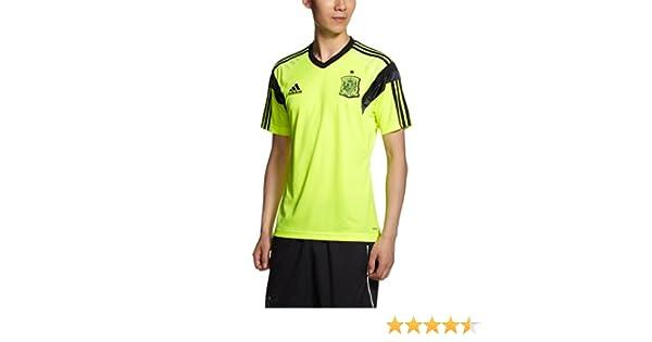 adidas Camiseta Entrenamiento España 2014 Electricity-Negra Talla ...