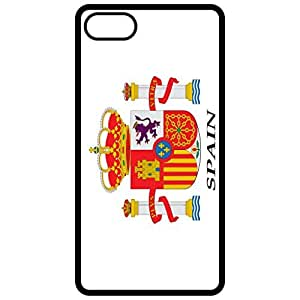 Spain Coat Of Arms Flag Emblem Black Apple Iphone 6 (4.7 Inch) Cell Phone Case - Cover