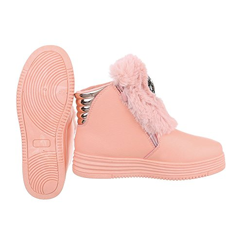 Damen Schuhe Stiefeletten designer Strass Besetzte 2318 Hellbraun 36