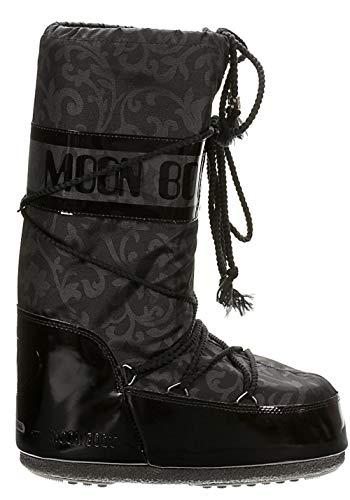 Boot Invernali Bambino Moon Unisex 34 Barocco 31 Stivali Nero FPZZ6qgHn