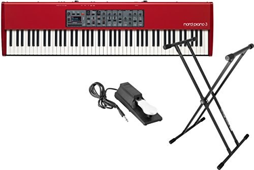 Nord Piano 3 88-Key Stage Piano with 1GB of Sample Memory w/ Stand and Pedal