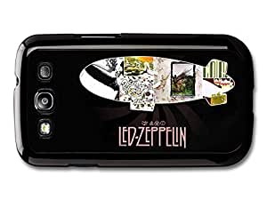 AMAF ? Accessories Led Zeppelin Collage Album Covers case for Samsung Galaxy S3