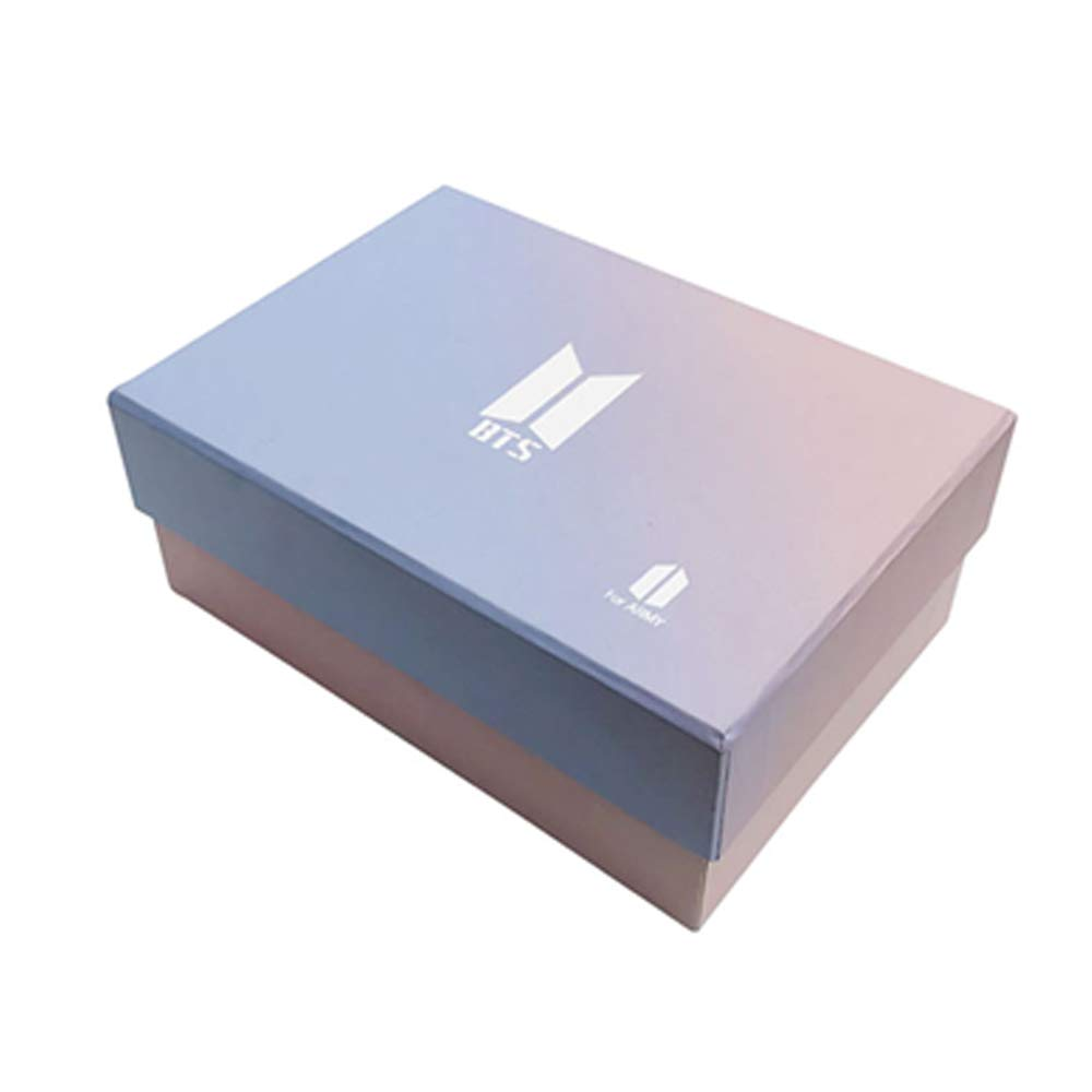 Kpop Gifts Set for ARMY 97 pcs Bantan Boys World Box Include Postcards Stickers, Gift Case for Daughter Granddaughter (Army-BOX)