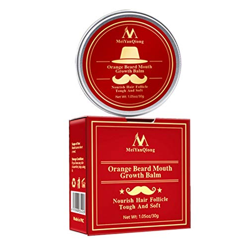 Angmile Beard Balm Nourishing Moisturizing Mustache Care Wax Promote Beard Growth Aftershave Care Cream For Men