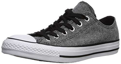 (Converse Women's Chuck Taylor All Star Double Tongue Low Top Sneaker, White/Black, 7 M US)