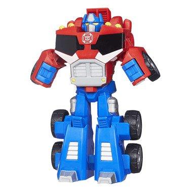 Playskool Heroes Transformers Rescue Bots Optimus Prime Figure (Prime Optimus Kids)