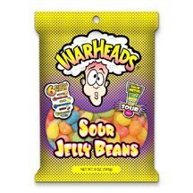 WarHeads Sour Jelly Beans 5 oz (12 Bags) by Warheads -