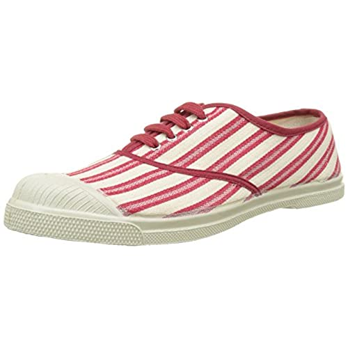 cheap Bensimon Tennis Lacet Rayures Transat, Baskets Basses Femme ... aeaa9ec1c717
