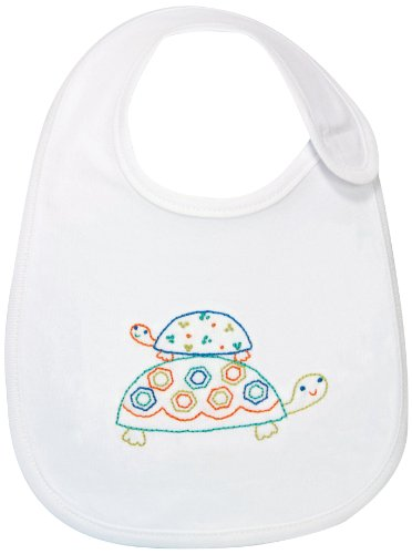 Dimensions Crafts Embroidered Bibs Turtles