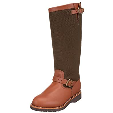 """Chippewa Men's 17"""" Pull On 23913 Snake Boot,BrownEsspresso,7.5 E US"""