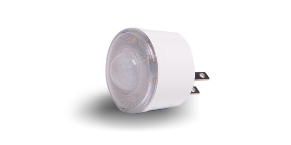 LED Motion Sensor Night Light for Bedroom, Bathroom, Hallway, Step, and Stairs, Energy Efficient