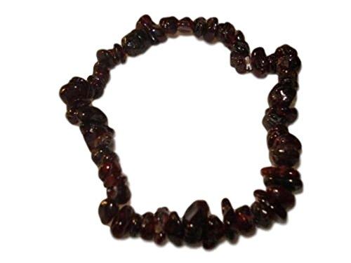 1pc-natural-healing-crystal-red-garnet-chip-gemstone-7-inch-stretch-bracelet