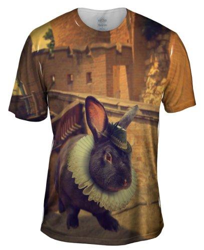 Yizzam- Elizabethan Rabbit -Tshirt- Mens ()