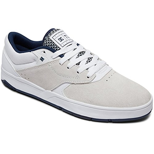 Dc Heren Tiago S Skate Sneakers Wit / Navy