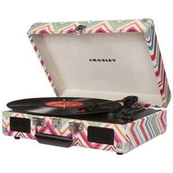 Amazon.com: Crosley Cruiser Portable Turntable W/Construido ...