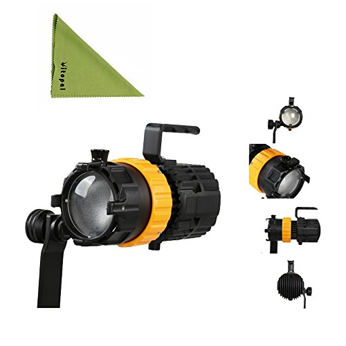 Falcon Eyes Pulsar 5 P-5 50W Mini Spot Light Photography Light Adjustable Focus Length Fill Light (Pulsar 5 P5) by Falcon Eyes
