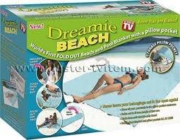 Dreamie Beach & Pool Blanket/towel As Seen On Tv
