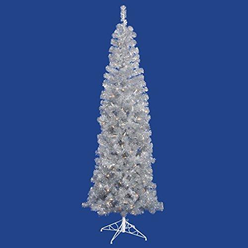 Vickerman Silver Pencil Tree Christmas