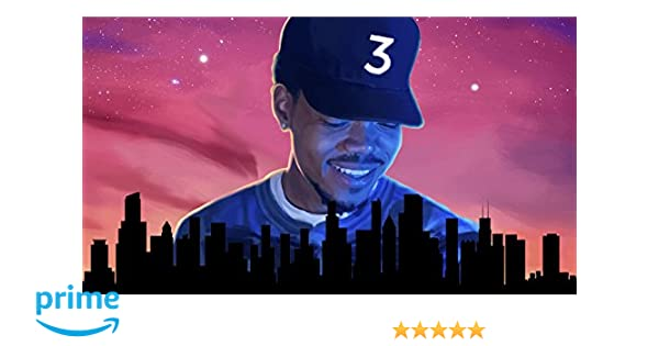 Amazon Chance The Rapper Acid Rap Poster Print By Go Awesome 12 Inch X 18 Rolled Posters Prints