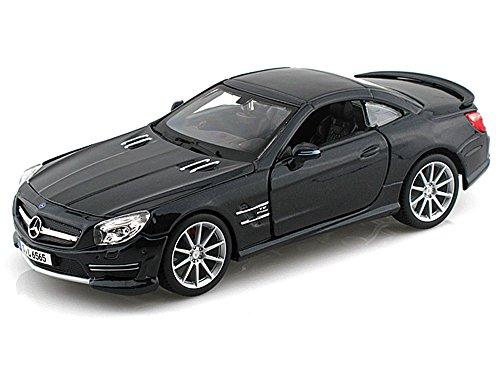 Bburago Mercedes-Benz SL65 AMG, Black 21066 - 1/24 scale Diecast Model Toy - Sl65 Benz Amg Mercedes