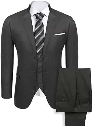 cbe007983e9a COOFANDY Men's Casual Dress Suit Slim Fit Stylish Blazer Coats Jackets