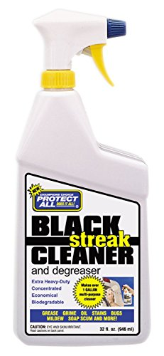 RV Trailer Camper Cleaners Black Streak Cleaner & Degreaser 32 Oz. PROTECT ALL