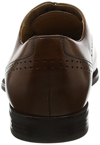 Life Zapatos New para Cognac de Cordones U Geox a Hombre Marrón Oxford qw7EUx