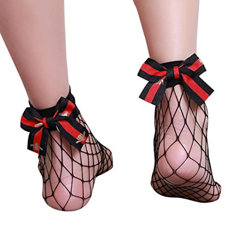 737a8a9eba Socks, FORUU Women Ruffle Fishnet Ankle High Mesh Lace for sale Delivered  anywhere in USA