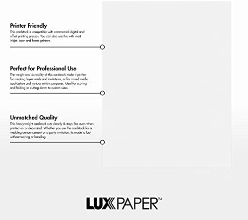 LUXPaper 6 1//4 x 2 5//8 Flat Cards in 100lb Black Cards Scrapbook and Office Supplies Black Linen for Crafts 1000 Pack