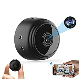 Mini Hidden Spy Camera WiFi Small Wireless Video Camera Full HD 1080P Night Vision Motion Sensor Support SD Card for…